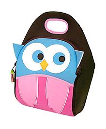 Elefantastik Hoot Owl Lunch Bag - Multi Color