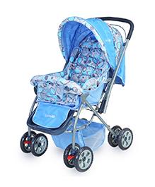 Luv Lap Baby Stroller Cum Pram - Sky Blue