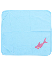 Child World Hand And Face Towel - Pink Fish
