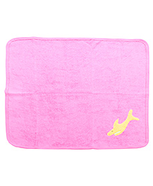 Child World Hand And Face Towel - Yellow Fish