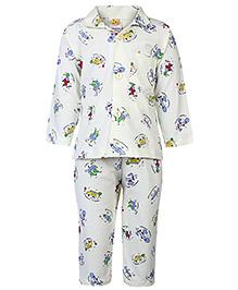 Little Full Sleeves Night Suit