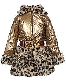 Little Kangaroos Single Piece Jacket Dress - Zippered