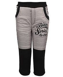 Little Kangaroos Quilted Bottom - Biker Series Embroidery - 1 Year
