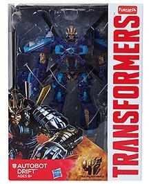 Transformers Autobot Drift Action Figure - Blue