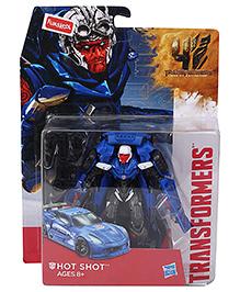 Transformers High Octane Hot Shot Action Figure Blue - Height 14 cm