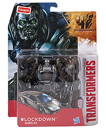 Transformers High Octane Lockdown Shot Action Figure Gray - Height 13 cm