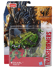 Transformers Snarl Action Figure Green - Height 14 cm