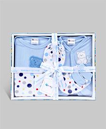 Montaly Baby Gift Set Blue - Set of 5
