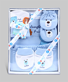 Montaly Baby Gift Set Citie Print - Set of 5