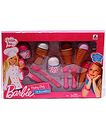 Barbie Pastry Chef Medium Box Set - Multi Colour