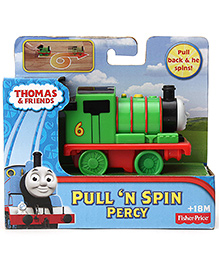 Thomas And Friends Pull N Spin Percy Engine - Green