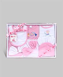 Montaly Baby Gift Set Monkey Print - Set of 10