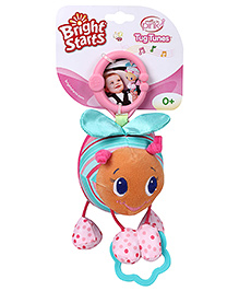 Bright Starts Tug Tunes Pretty in Pink Toy