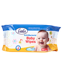 Little's Anti Bacterial Baby Wipes - 30 Pieces