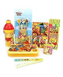 Winnie the Pooh School Kit Yellow - Pack Of 7