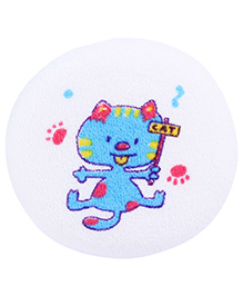 Fab N Funky Baby Bath Sponge Blue And Pink - Kitty