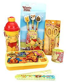 Winnie the Pooh School Kit Yellow - Pack Of 6