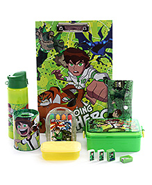 Ben 10 School Kit - Set of 7