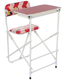 New Natraj Prestige Desk And Table Deluxe - Red