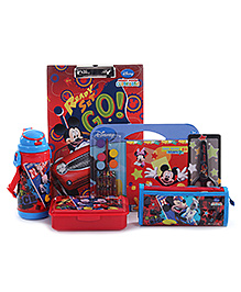 Disney Mickey Mouse School Kit - Pack of 6