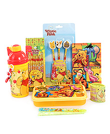 Disney Winnie The Pooh School Kit - Pack of 7