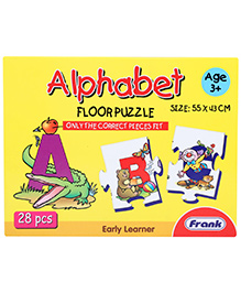 Frank Alphabet Floor Puzzle - 28 Pieces