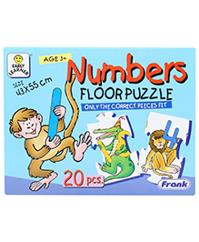 Frank Number Floor Puzzle - 20 Pieces