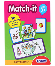 Frank Match It Puzzle Game