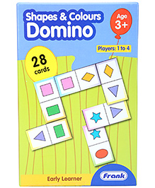 Frank Shapes And Colors Domino - 28 Cards