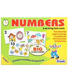 Frank Flash Cards Numbers - 27 Cards