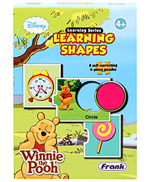 Frank Learning Shapes Puzzle Game - 4 Years+