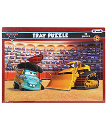 Frank Disney Cars Tray Puzzle - 15 Pieces