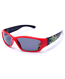 Ben 10 Kids Sunglasses - Red And Black