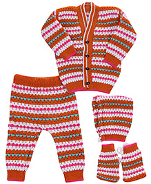 Babyhug Winter Wear Set - Pack Of 4