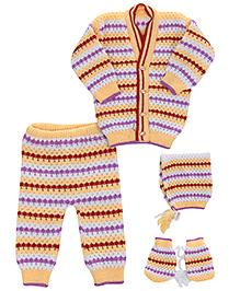 Babyhug Winter Wear Set - Pack Of 4