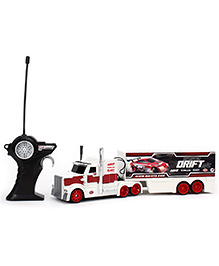Maisto Monster Drift Remote Control Racing Rigs - Red And White