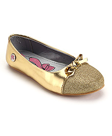 Barbie Party Belly Shoes - Golden