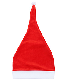 Babyhug Santa Cap - Red