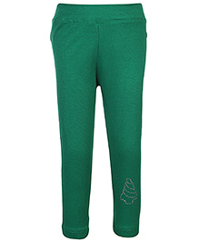 Babyhug Full Length Legging - Green