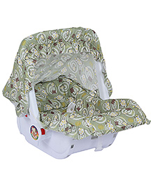 Fab N Funky Baby Carry Cot - Green