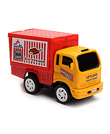 Speedage Leyland Dairy Goods Carrier - Yellow And Red