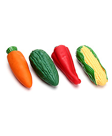 Speedage PVC Vinyl Squeezy Vegetables - 4 Vegetables