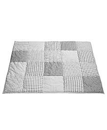 Taftan European Brand 5 layer Padded Play Mat Grey Patch
