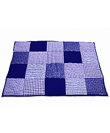 Taftan European Brand 5 layer Padded Play Mat Dark Blue Patch