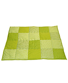 Taftan European Brand 5 layer Padded Play Mat Lime Patch