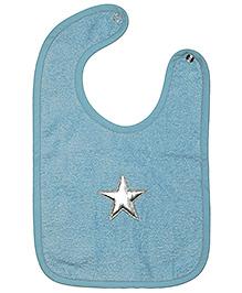 Taftan European Brand Bib Star Light Blue