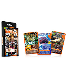 Top Trumps Predators - 26 Cards