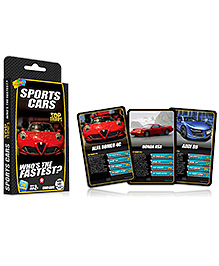 Top Trumps Sports Cars - 26 Cards
