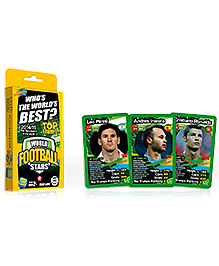 Top Trumps World Football Stars - 26 Cards