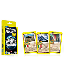 Top Trumps Wonders Of The World - 26 Cards